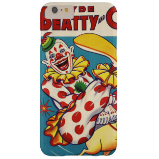 Clyde Beatty & Cole Bros Circus Poster Barely There iPhone 6 Plus Case