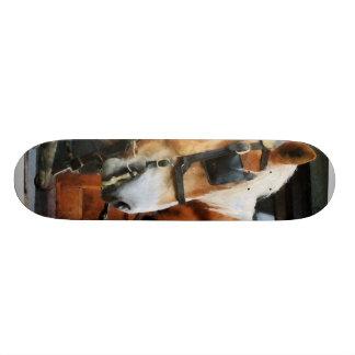Clydesdale Closeup Custom Skate Board