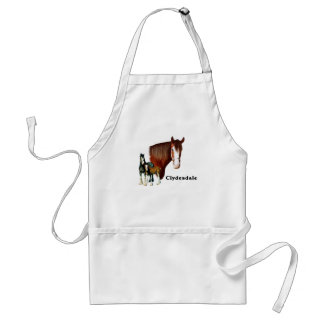 Clydesdale design apron