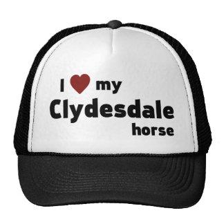 Clydesdale horse cap