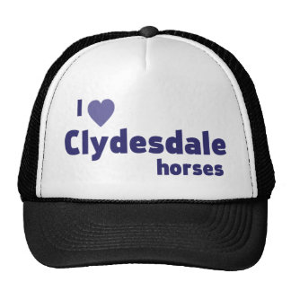 Clydesdale horses cap