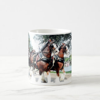 Clydesdale Horses Coffee Mug