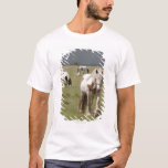 Clydesdale horses in a field, Northumberland, T-Shirt