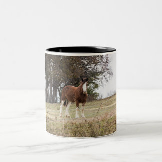 Clydesdale Two-Tone Mug