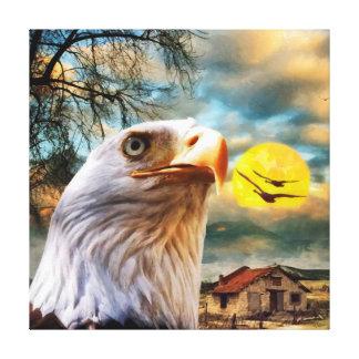 CM12046 - Eagle, power Canvas Print