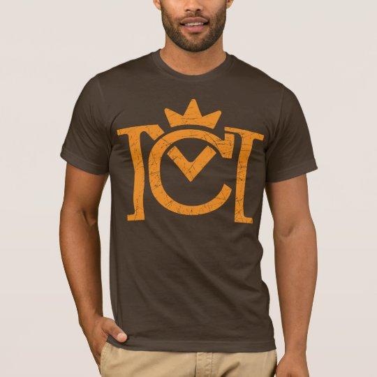 CM Letter Logo (vintage orange) T-Shirt