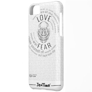 CM // Love or Fear is a Choice iPhone 5C Case