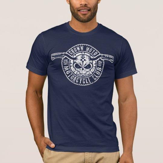 CM Moto Club (vintage wht stencil) T-Shirt
