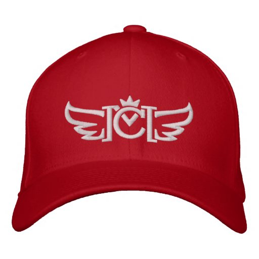 CM Wings Logos (white) Embroidered Hat