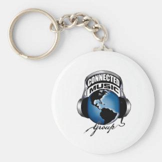CMG Logo Items Basic Round Button Key Ring