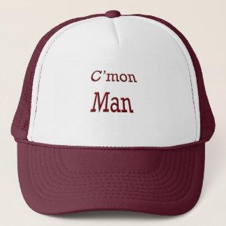 C'mon man trucker hat