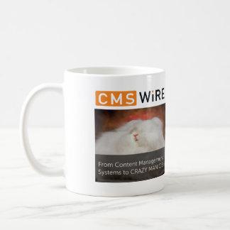 CMSWire Headlines Basic White Mug