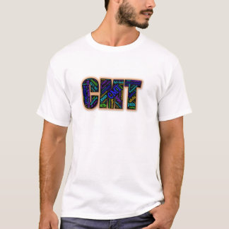 CMT Awareness T-Shirt (Word Cloud)
