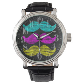 CMY Mustaches Watch