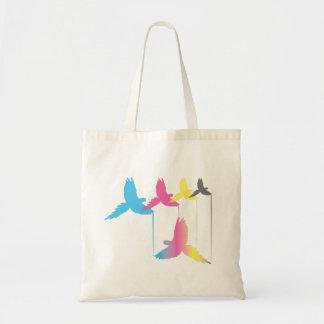 CMYK Bird Bag