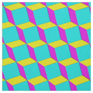 CMYK Blocks Fabric