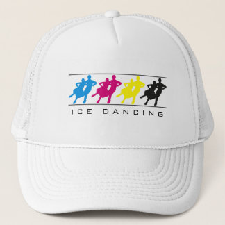 CMYK - Ice Dancing Silhouette Hat