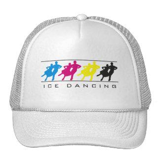 CMYK - Ice Dancing Silhouette Hat