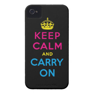 CMYK keep calm and carry on Blackberry Bold Covers