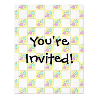 CMYK Nerd Zone Ahead Hipster Geek Sign Pattern Invite