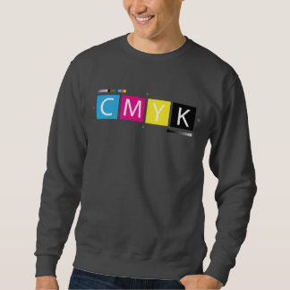 CMYK Pre-Press Colors Sweatshirt