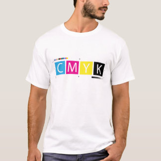 CMYK Pre-Press Colors T-Shirt
