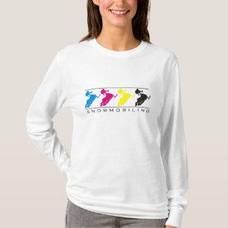 CMYK - Snowmobile Silhouette - L/S Shirt
