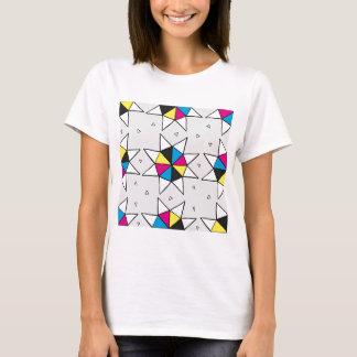 CMYK Star Wheel T-Shirt