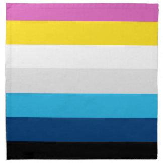 CMYK Stripes Napkin