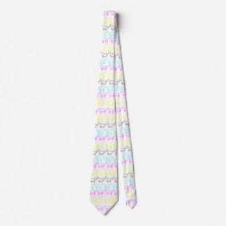CMYK Unicorn Stripes Tie