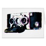 CMYK Vintage Camera Picture Pop Art Cards