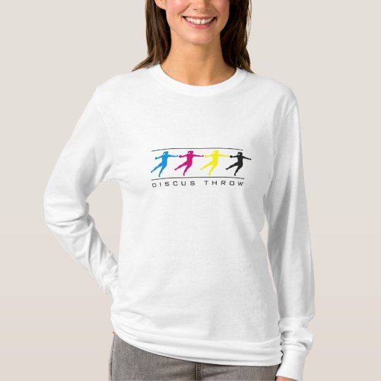 CMYK - Women's Discus Throw T-Shirt