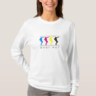 CMYK - Women's Shot Put T-Shirt