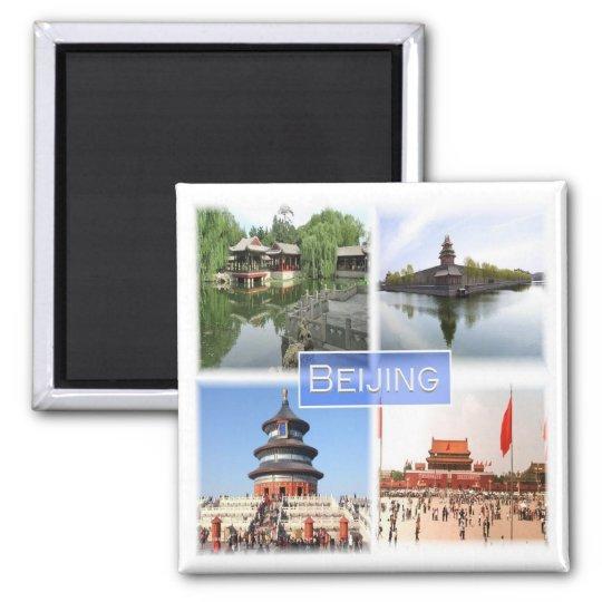 CN * China - Beijing Square Magnet