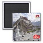 CN - China - Tibet Square Magnet