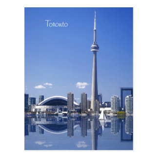 CN Tower and buildings in Toronto, Ontario, Canada Postcard