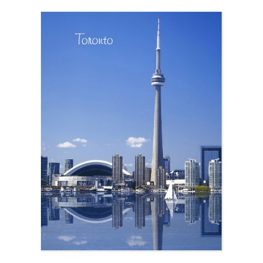 CN Tower and buildings in Toronto, Ontario, Canada