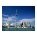 CN Tower and Skydome in Toronto, Ontario, Postcard