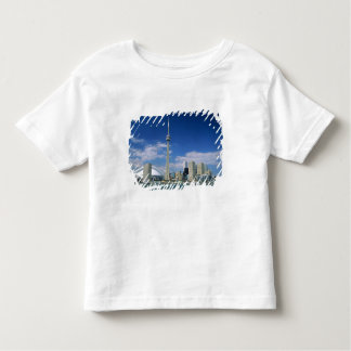 CN Tower and Skydome in Toronto, Ontario, Toddler T-Shirt