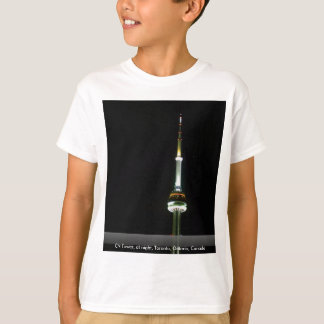 CN Tower, at night, Toronto, Ontario, Canada T-Shirt