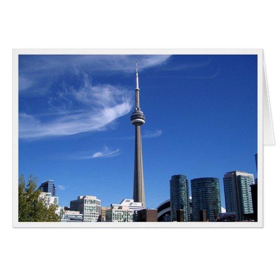 CN Tower, Toronto Card