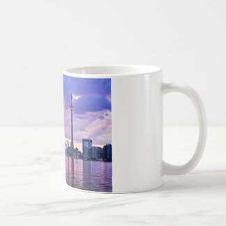 CN Tower : View from Center Island Toronto Coffee Mug