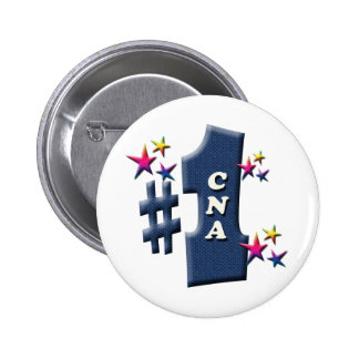 CNA Award 6 Cm Round Badge