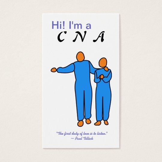 CNA Business Card template