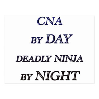 CNA BY DAY POSTCARD