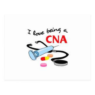 CNA CERTIFIED NURSES ASSISTANT POSTCARD