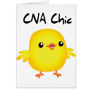 CNA Chic Greeting Card