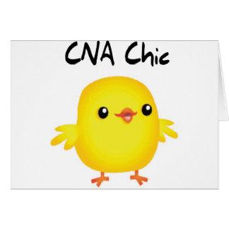 CNA Chic Greeting Card