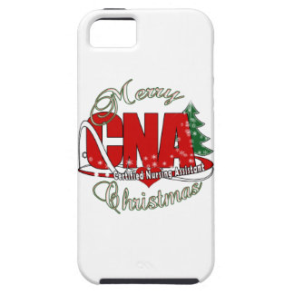 CNA CHRISTMAS Certified Nursing Assistant iPhone 5 Cases