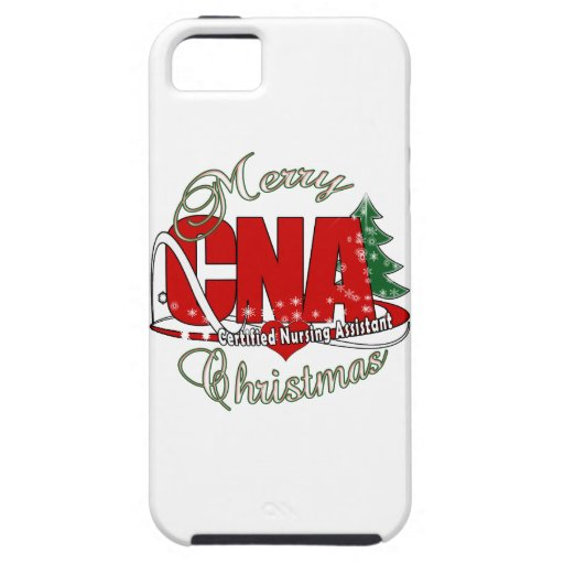 CNA CHRISTMAS Certified Nursing Assistant iPhone 5/5S Case